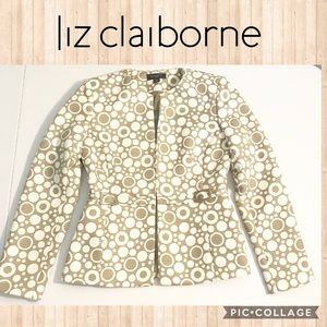 Liz Claiborne Jacket 4 Micro-Quilted Polka Dots
